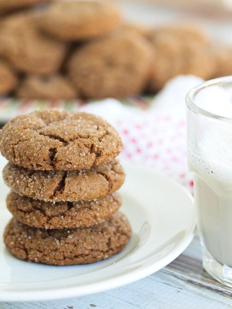 Healthy Ginger Cookies