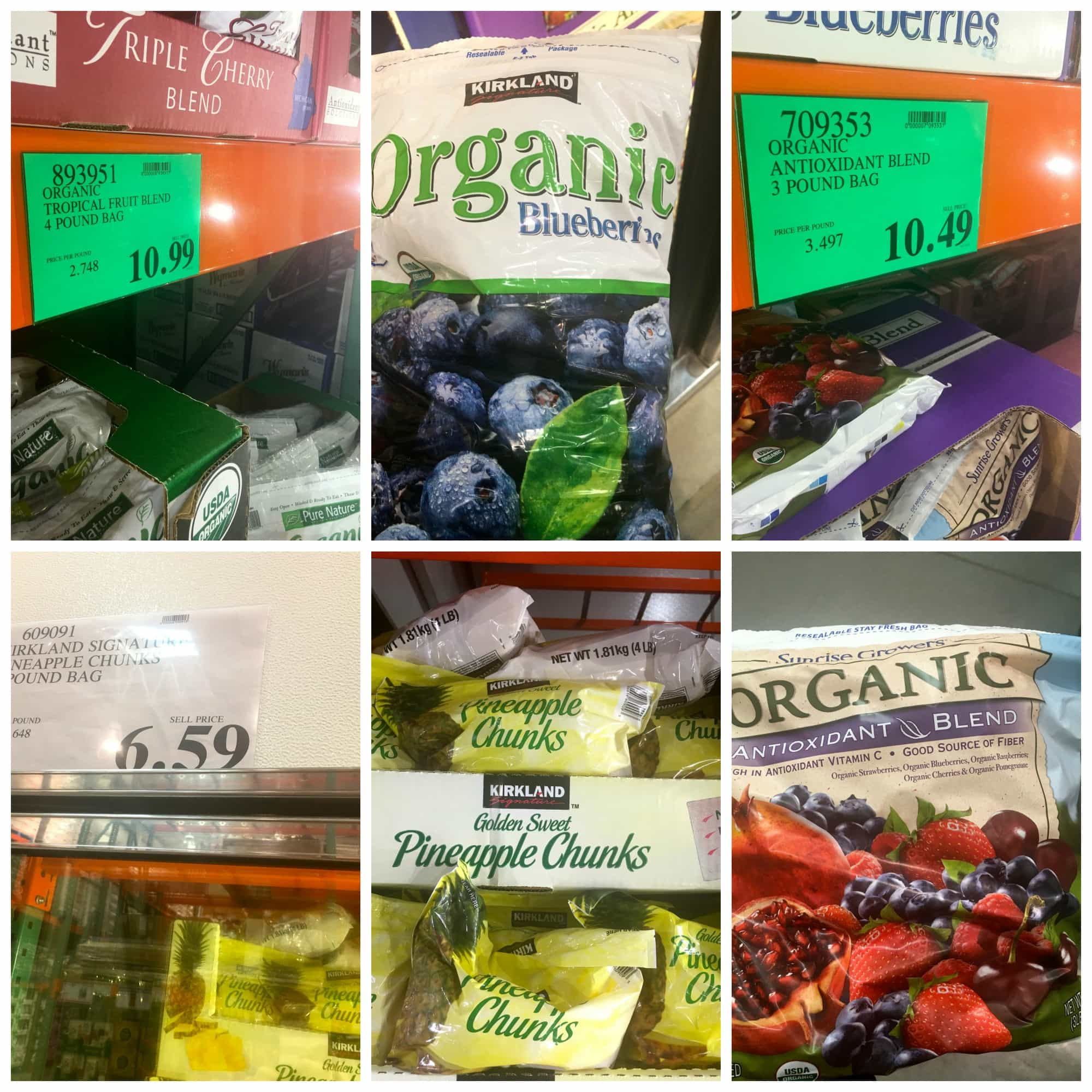 How I Save $130 a Month Buying Organic Food at Costco