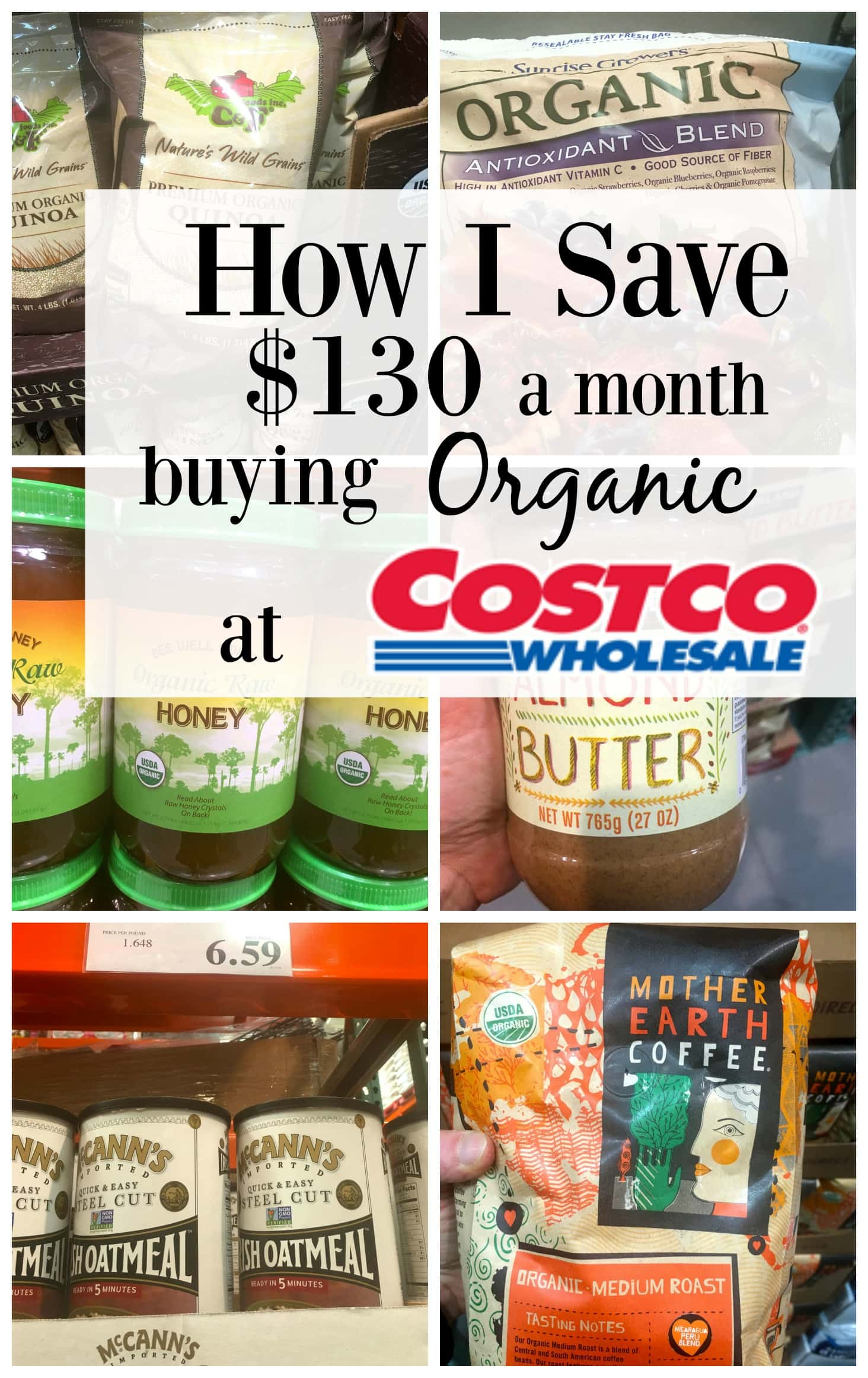 How I Save $130 a Month Buying Organic Food at Costco - Happy ...