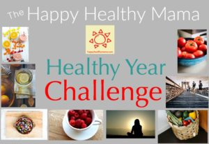 Keep your healthy living goals all year long with the Happy Healthy Mama Healthy Year Challenge. Join the challenge and make this your healthiest year ever!