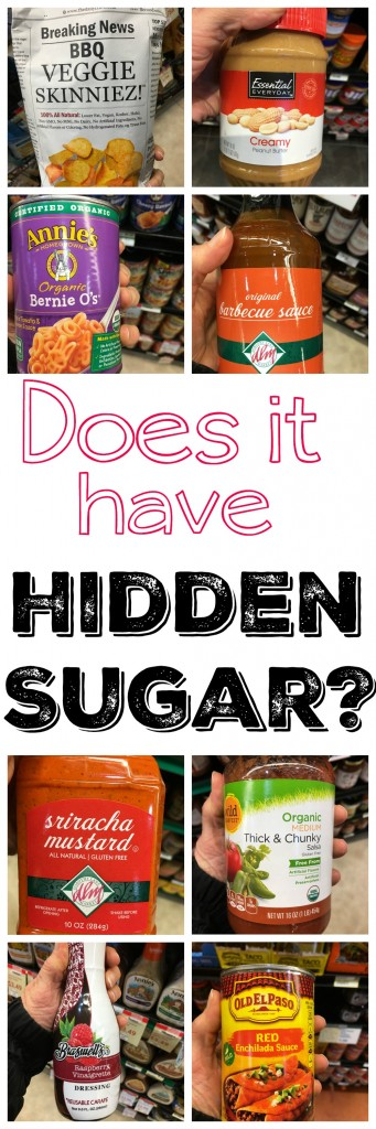 Do you know which foods have added sugar?  Check out this list of 12  foods that have hidden sugar.  Sugar is linked to every major disease--it's worth taking the time to figure out how much you are consuming!