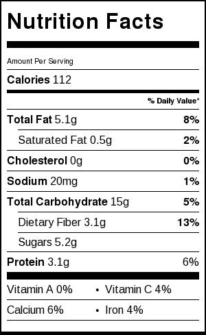 Pear-Oatmeal-Bars-Nutrition