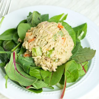 Avocado Tuna Salad (No Mayo)