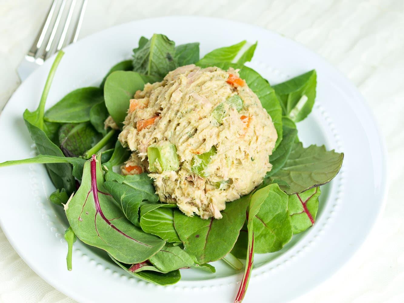 Avocado Tuna Salad (No Mayo) - Happy Healthy Mama