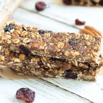 Pecan Cranberry Granola Bar Recipe