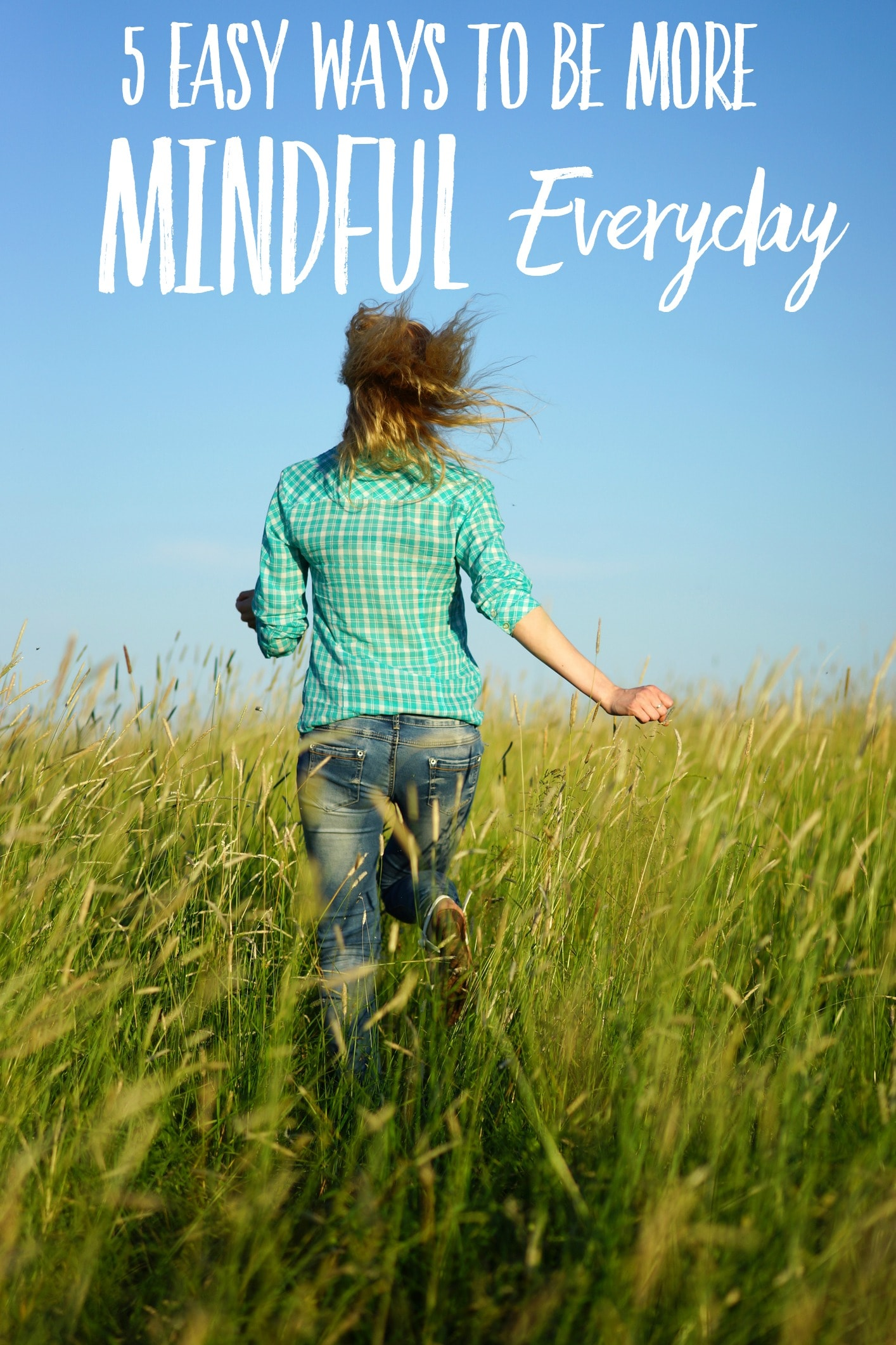 Find out how to be more mindful in your everyday life. People who are mindful are happier, more productive, and experience less stress. Learn easy ways to practice mindfulness.