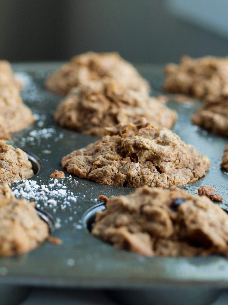 Carrot Cake Oatmeal Muffin Recipe