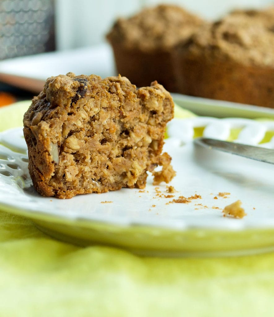Carrot Cake Oatmeal Muffin Recipe