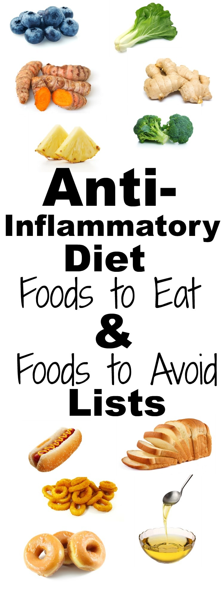 List Of Foods That Reduce Inflammation