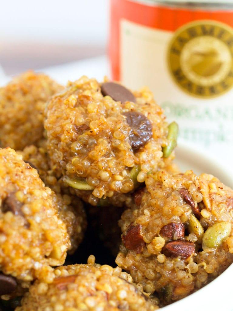 quinoa pumpkin balls