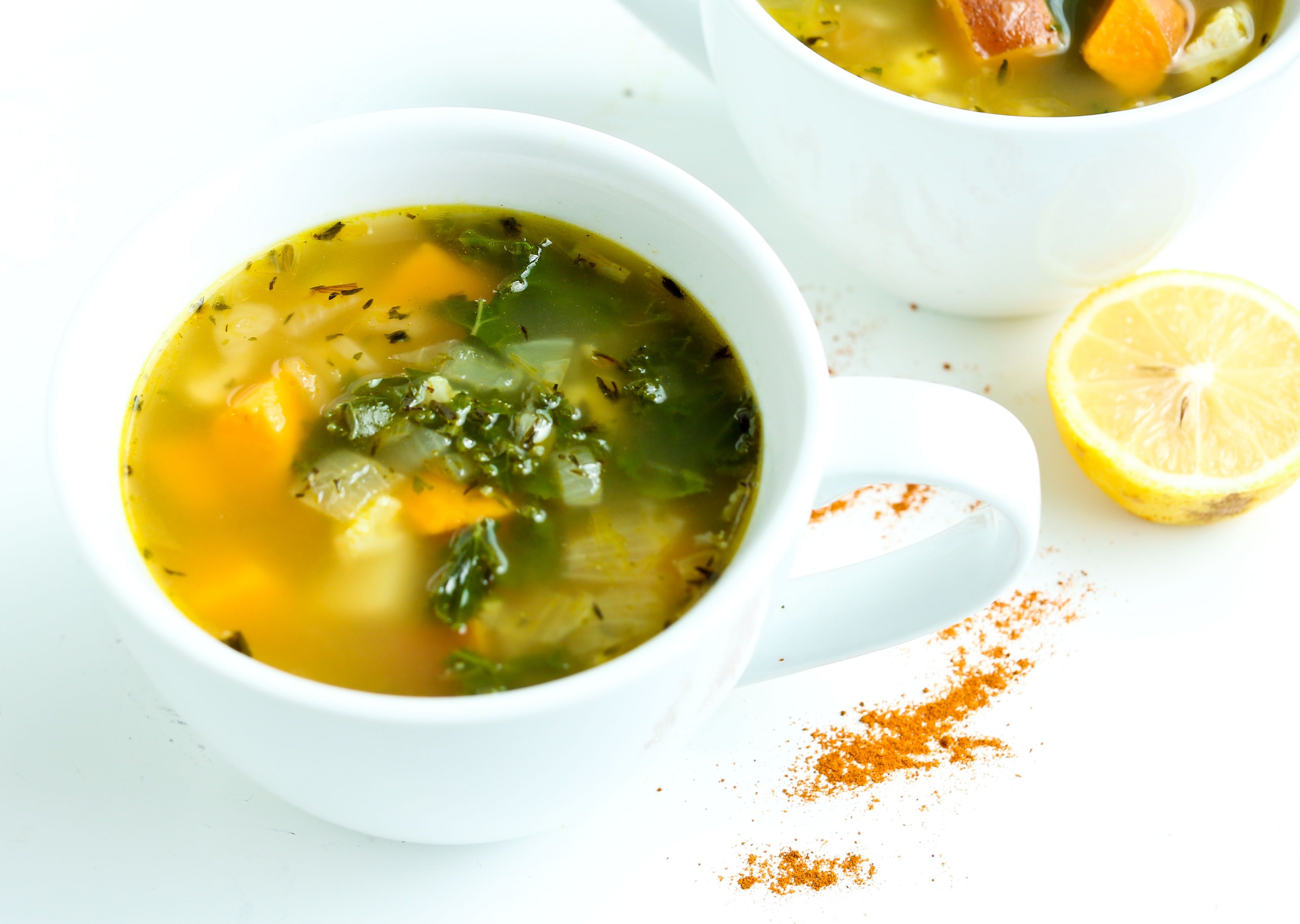 Cold busting soup happy healthy mama for Soup for a cold