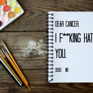 I F**king Hate Cancer and it Fuels Me