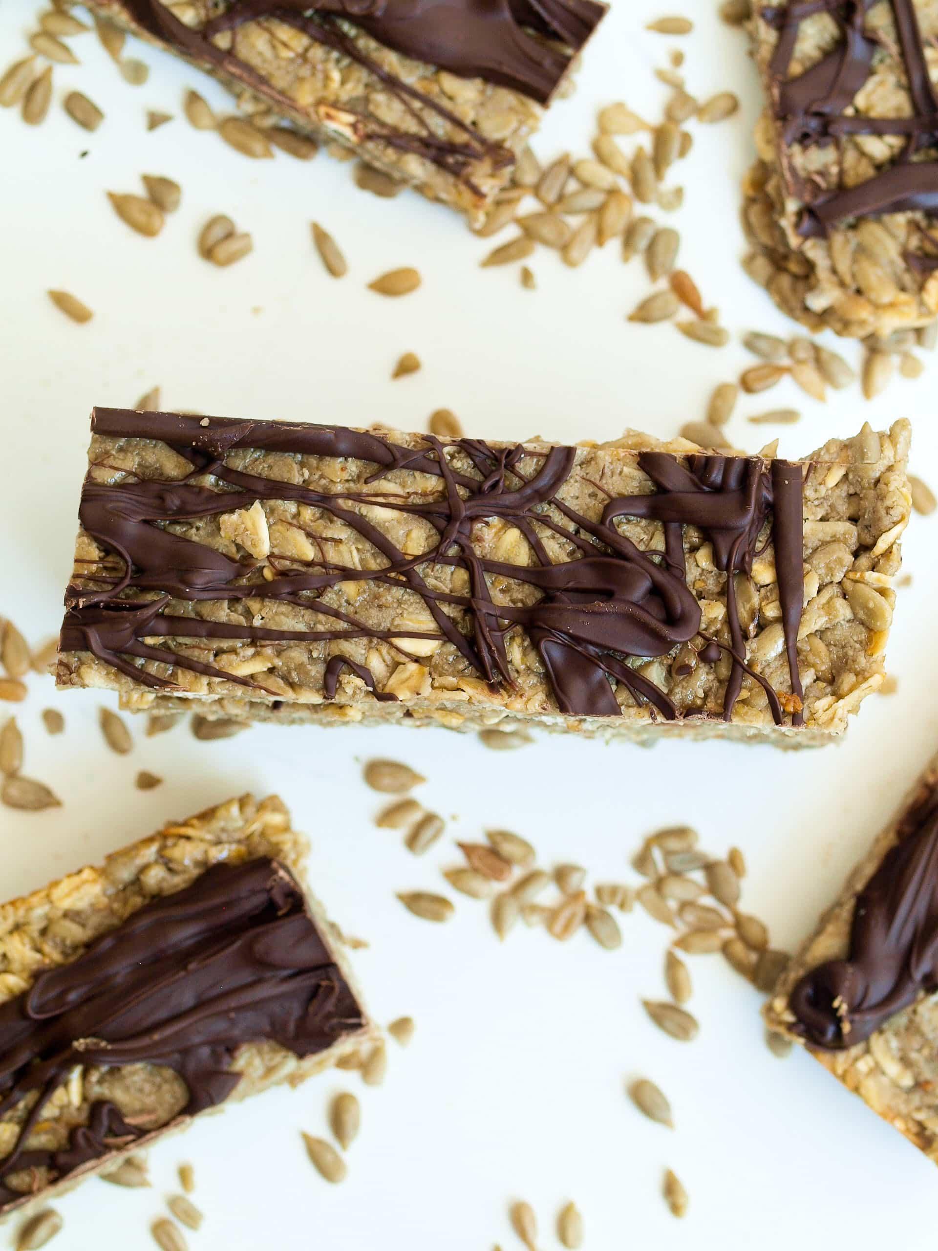 Nut-free Granola Bar Recipe - Happy Healthy Mama