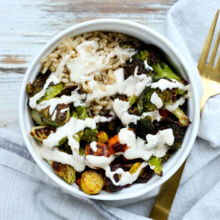 Roasted Vegetable Buddha Bowl Recipe