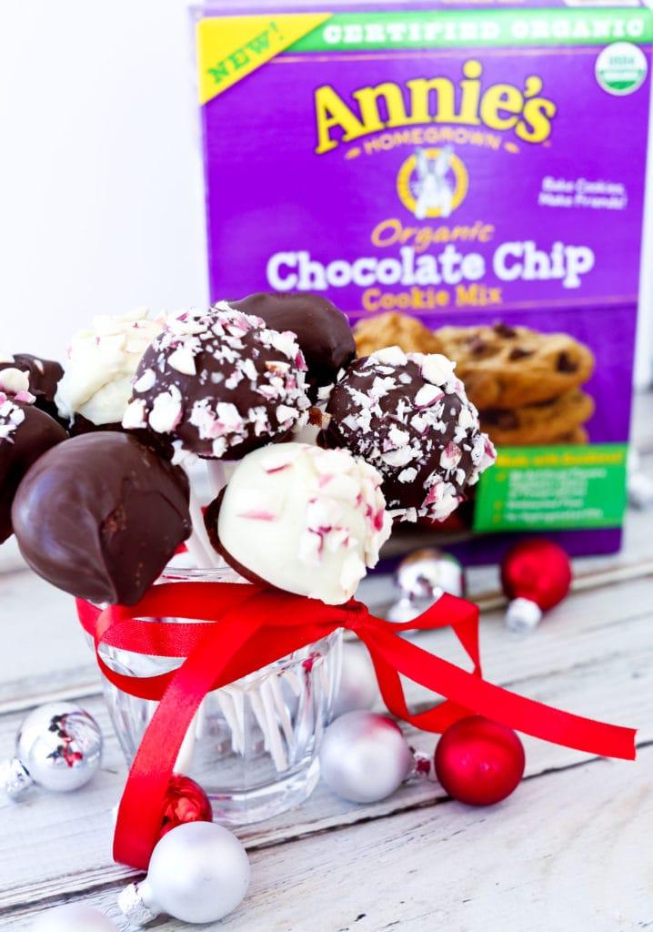 Chocolate Cookie Pops Recipe