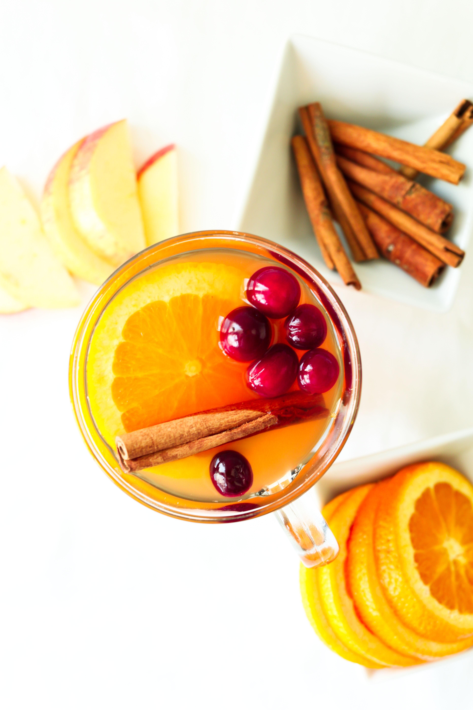 Crockpot Mulled Hot Apple Cider