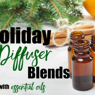Essential Oils Diffuser Recipes for the Holidays
