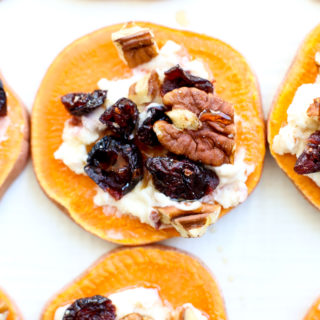 "Sweet Potato ""Toasts"" Appetizer"