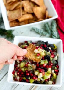 Spiced Winter Fruit Salsa Recipe