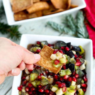 Spiced Winter Fruit Salsa Recipe