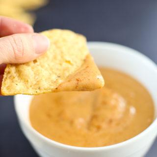 10-Minute Vegan Nacho Cheese Sauce