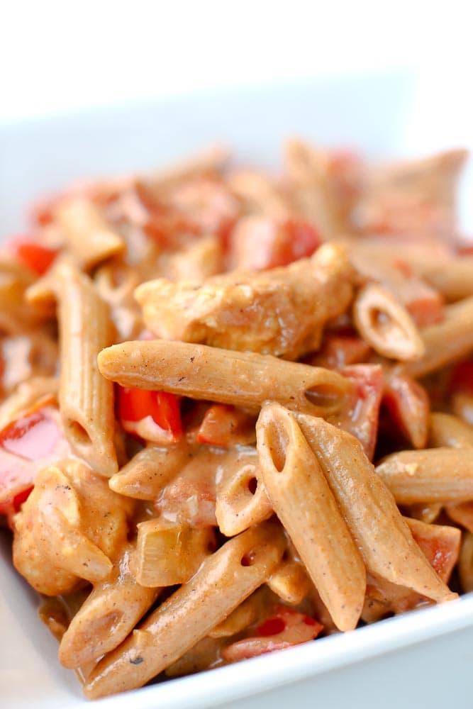 Chicken Fajita Pasta RecipeChicken Fajita Pasta RecipeChicken Fajita Pasta Recipe