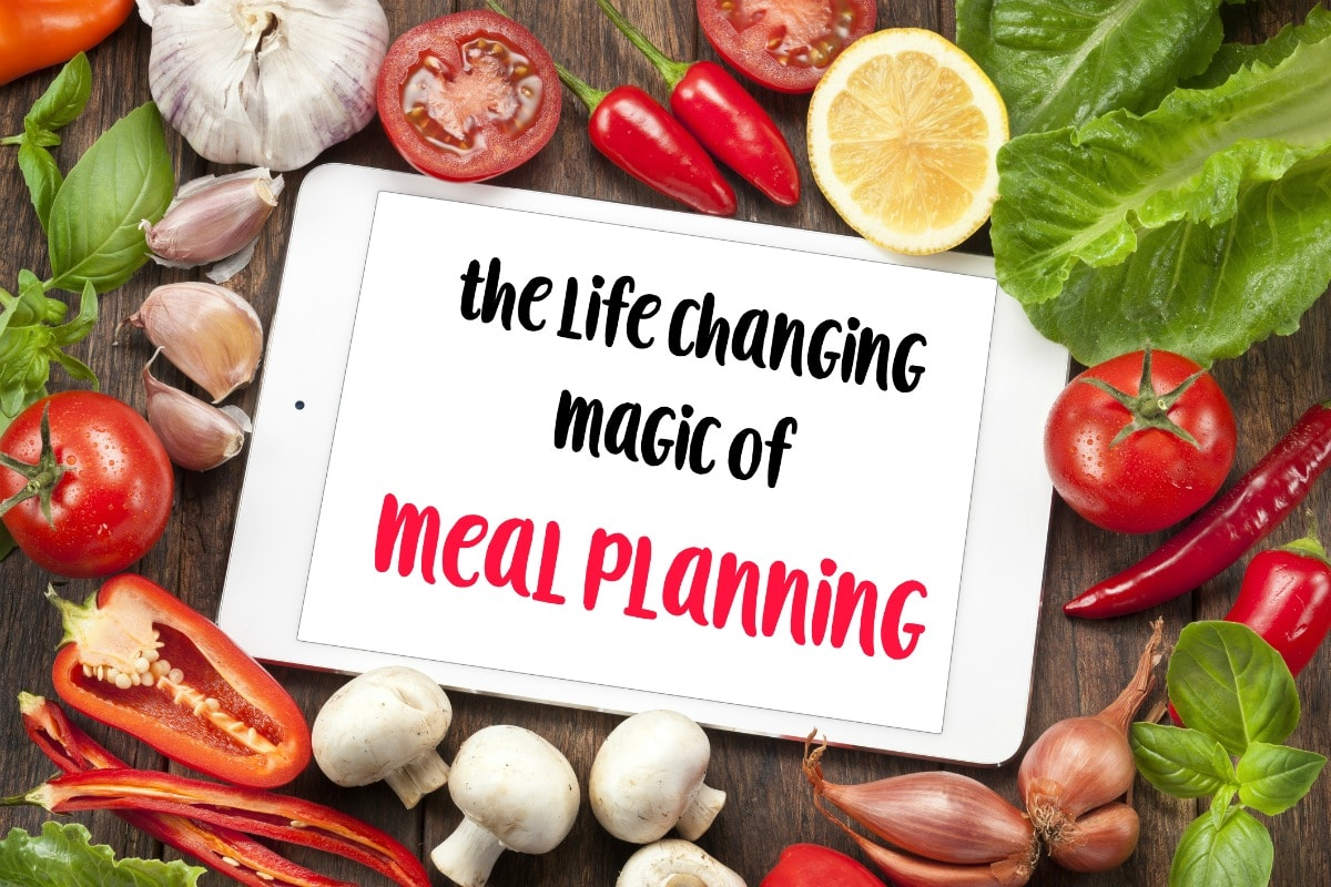 The Life Changing Magic Of Meal Planning