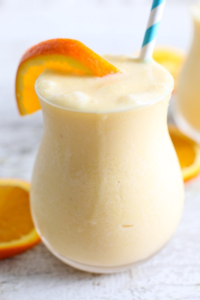 Dairy-Free Orange Creamsicle Smoothie - Happy Healthy Mama