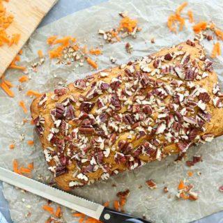 Carrot Honey Quick Bread
