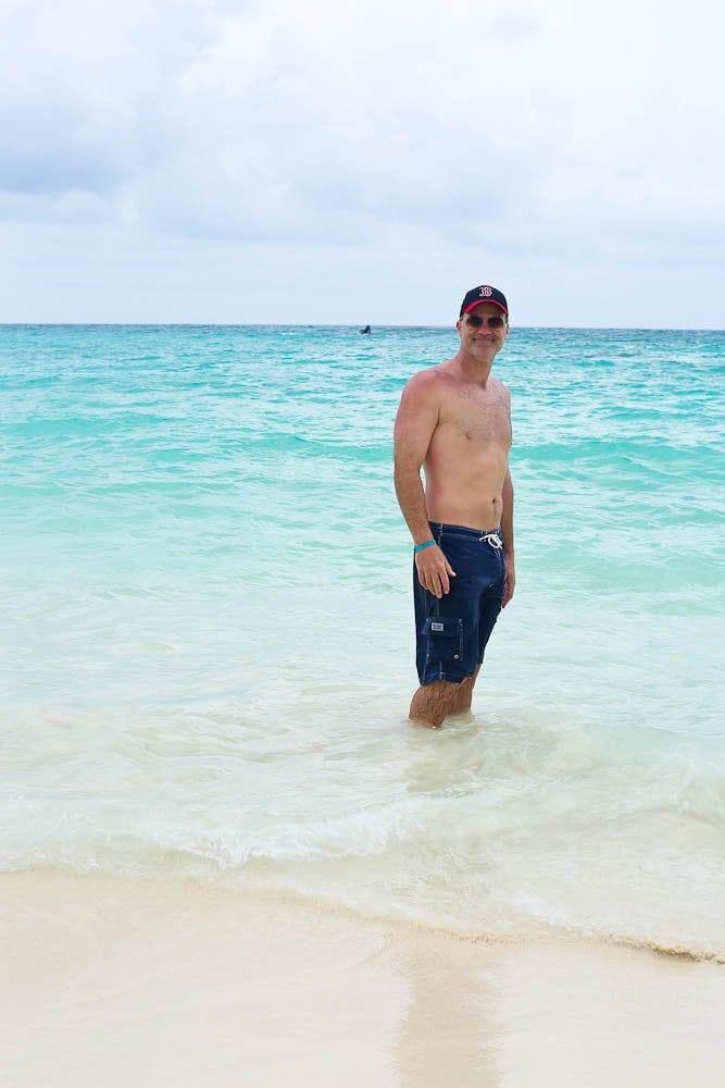 fun in the ocean club med cancun Yucatan
