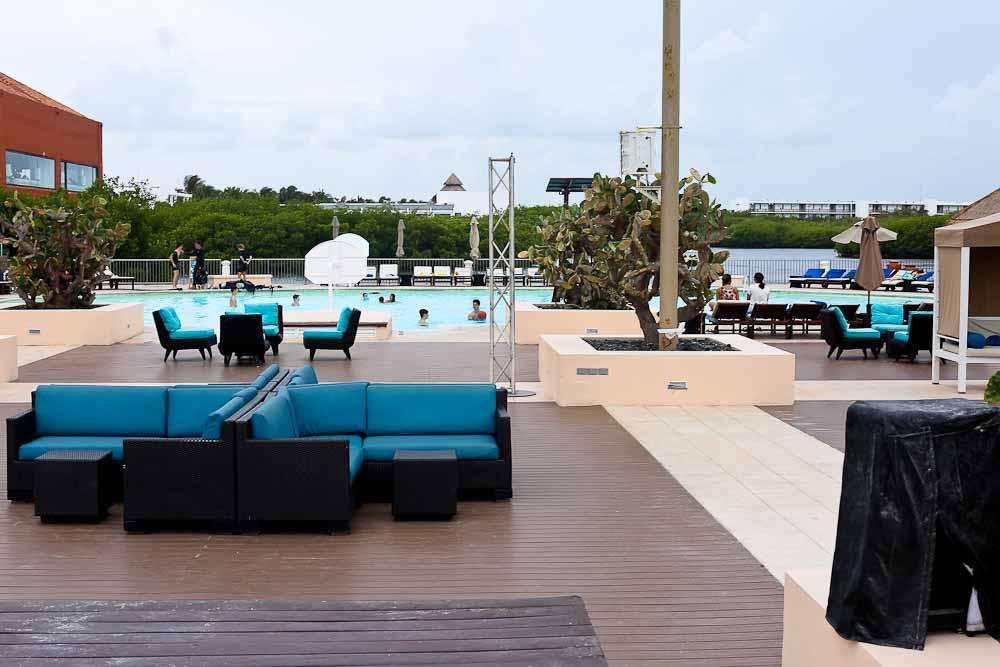 Club Med Cancun Yucatan pool