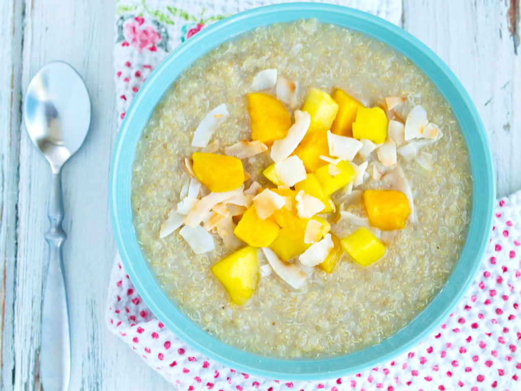Tropical Breakfast Quinoa Recipe