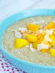 Close up visual of Tropical Quinoa Breakfast Recipe