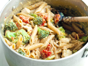 One Pot Penne and Broccoli Recipe