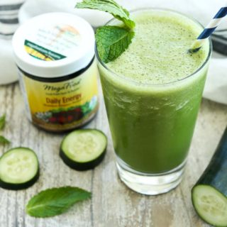 Energizing Cucumber Mint Smoothie