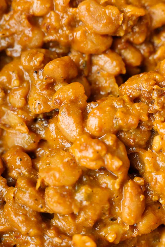Homemade Baked Beans from Scratch - Happy Healthy Mama