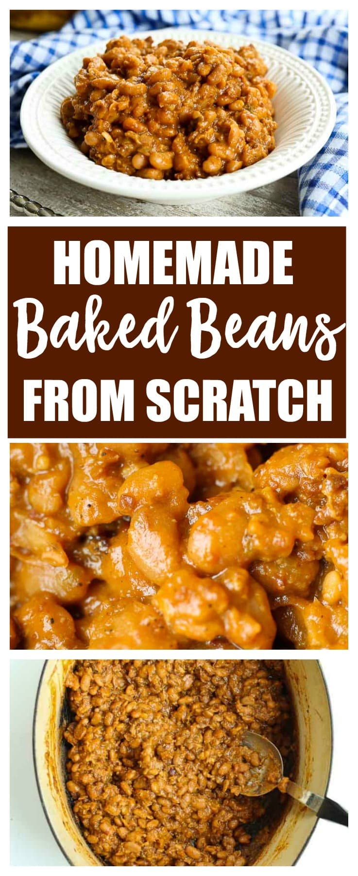 homemade baked beans from scratch | recipe | barbecue | summer | dried beans | clean eating | healthy homemade baked beans from scratch | recipe | barbecue | summer | dried beans | clean eating | healthy