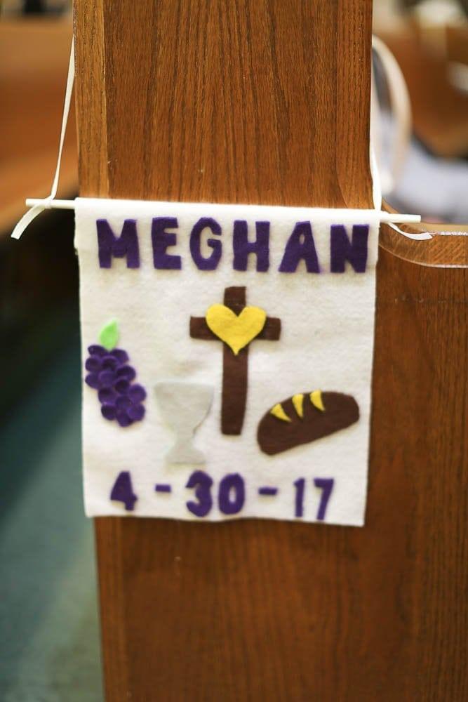 first communion banner