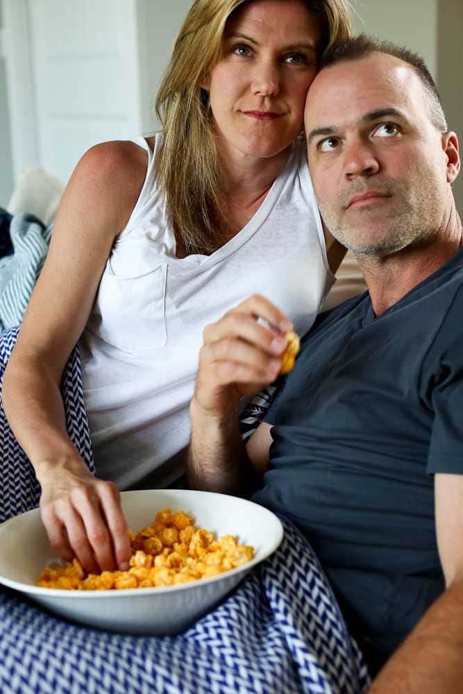 Watching a movie--how to intentionally plan date nights
