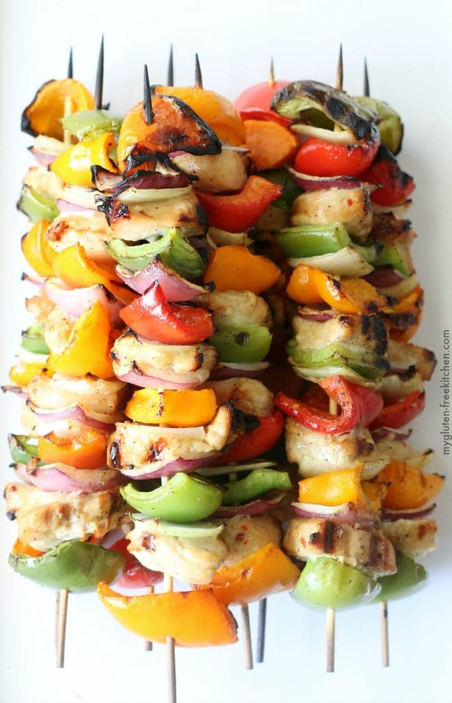 Bell Pepper Recipes: kabobs