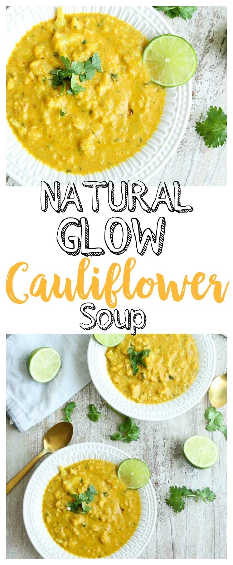 Cauliflower soup | gluten-free | vegan friendly | Paleo | healthy recipe