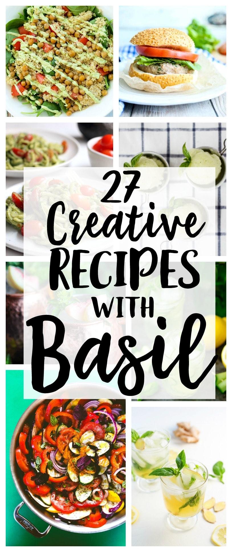 Basil recipes | summer garden | easy recipes | summer recipes