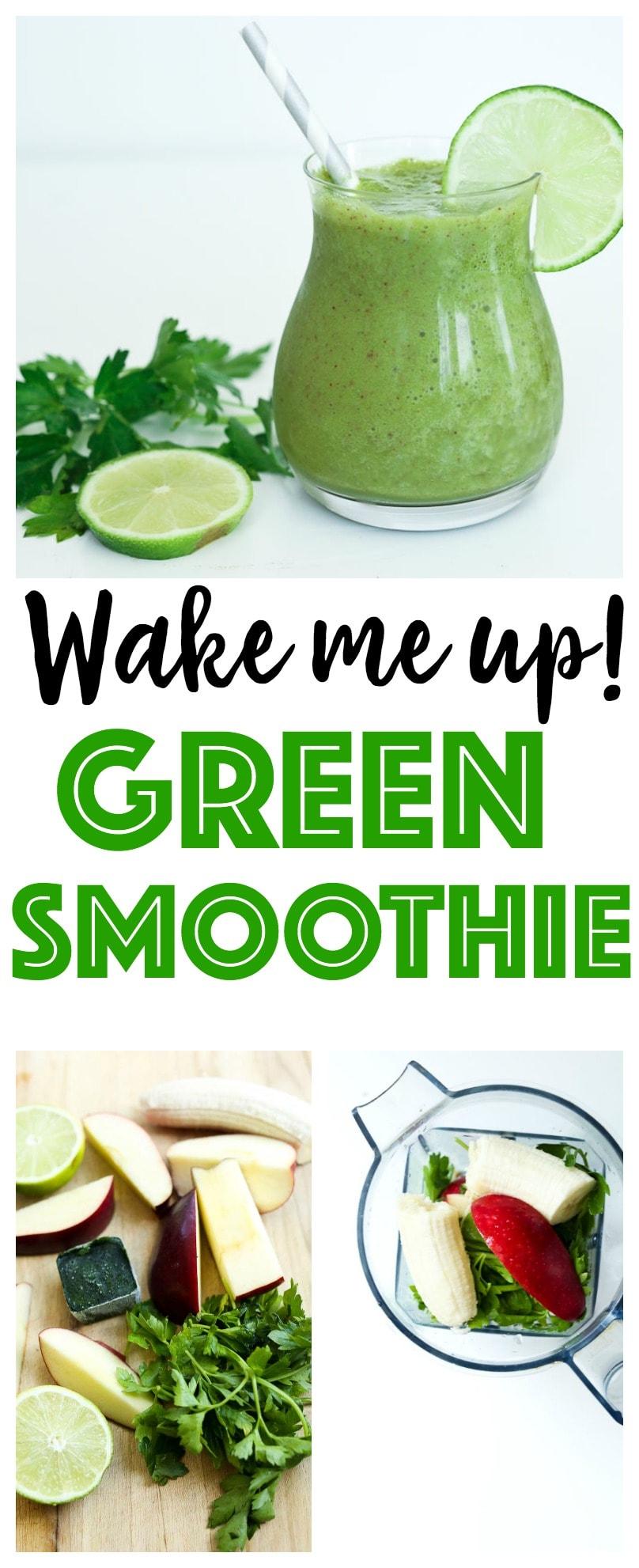 Green Smoothie Recipe   healthy   vegan   gluten-free   Paleo