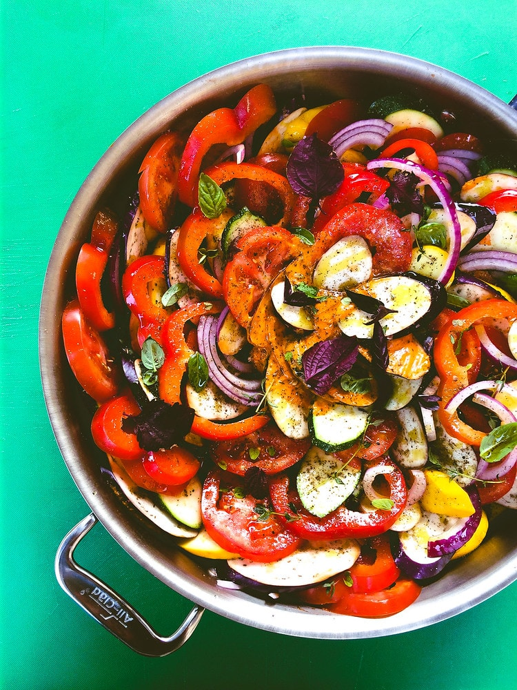 Creative Recipes with Basil-Rataouille