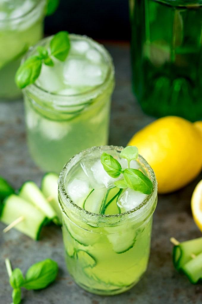 Creative Recipes Using Basil-Gin and Cucumber Smash