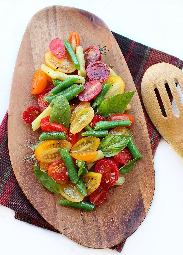 Creative Recipes using basil green bean salad