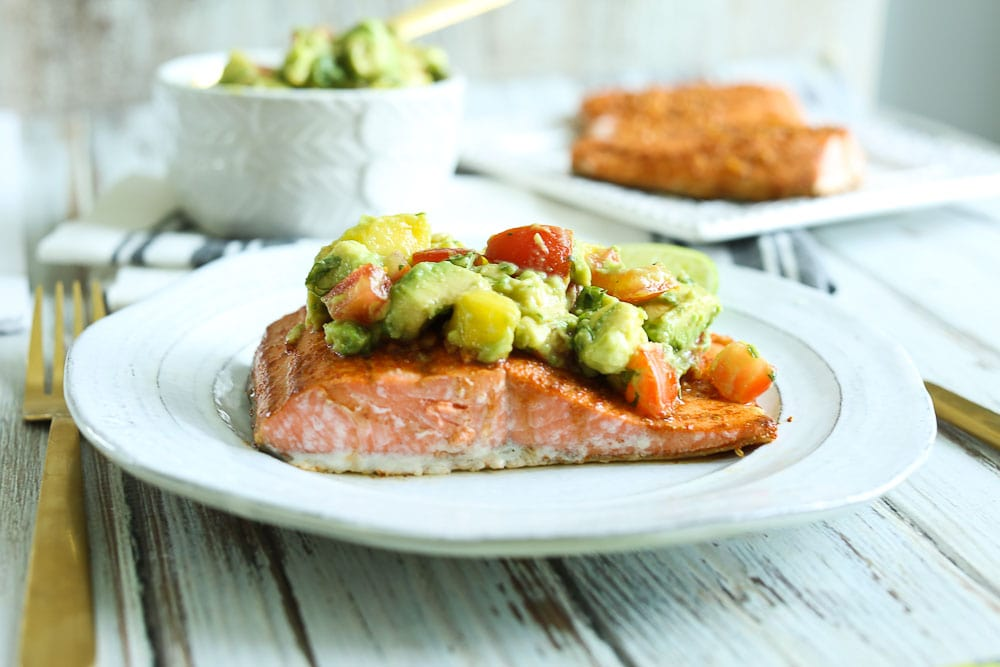 Chili Lime Baked Salmon Recipe