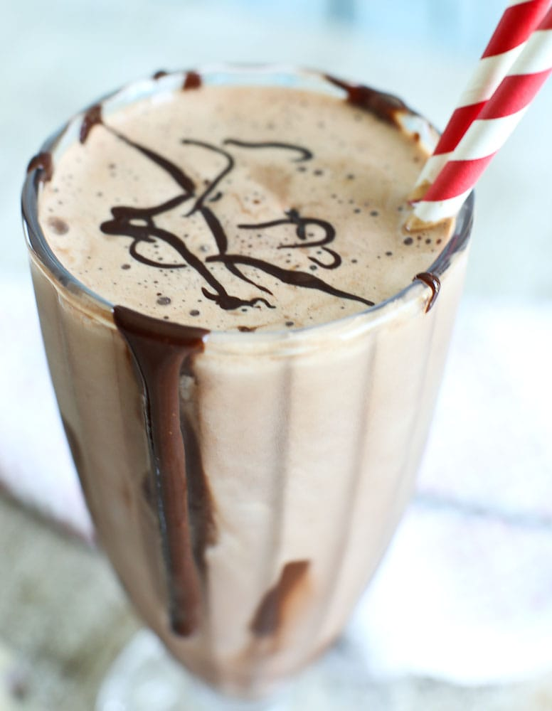 Low Calorie Chocolate Milkshake recipe