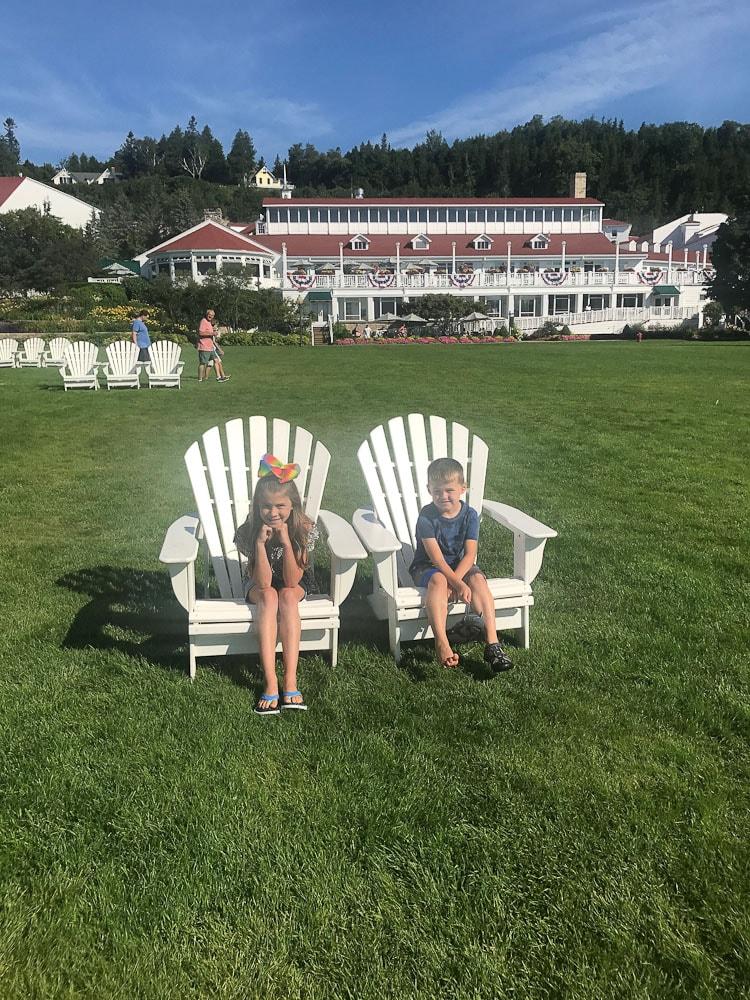 Northern Michigan Vacation-Mackinac Island Mission Point Resort