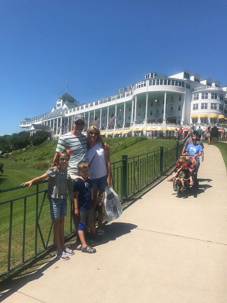 Northern Michigan Vacation--Grand Hotel Mackinac Island